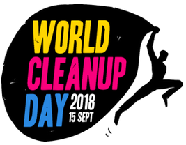 logo World Clean Up Day 2018